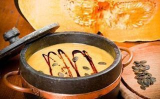 Pumpkin Soup with Pumpkin Oil