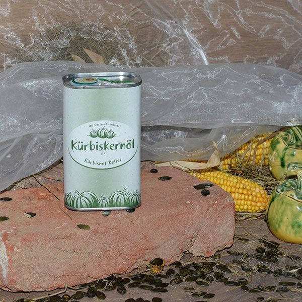 Pumpkin Seed Oil Tin