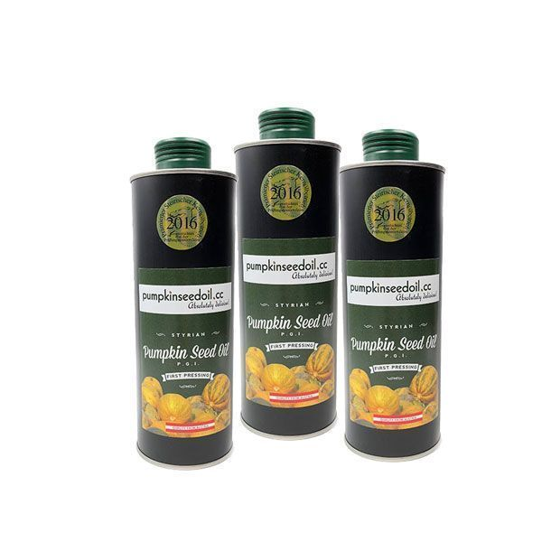 Triple Pack Styrian Pumpkin Seed Oil Store Brand Triple Pack Offer